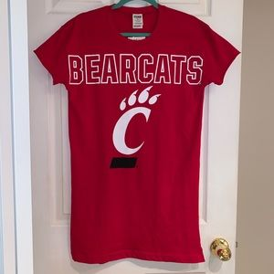 PINK Cincinnati Bearcats Sleep Shirt - NWT